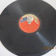Discos de vinilo: DISCO PIZARRA COLUMBIA MANOLO EL MALAGUEÑO CASERA ME BOY LA VI UNA MAÑANA R 18344 A. Lote 165975006