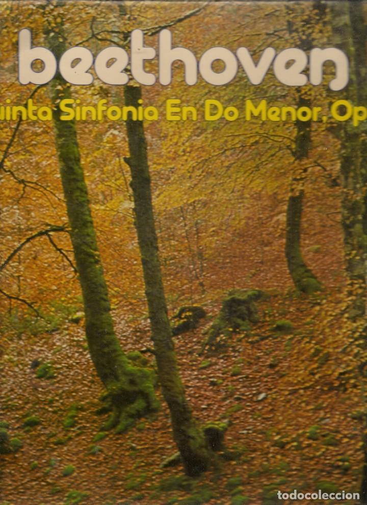 LP. BEETOVEN. QUINTA SINFONIA EN DO MENOR. OP 67. (P/B72) (Música - Discos - LP Vinilo - Otros estilos)