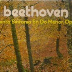 Discos de vinilo: LP. BEETOVEN. QUINTA SINFONIA EN DO MENOR. OP 67. (P/B72). Lote 165976890