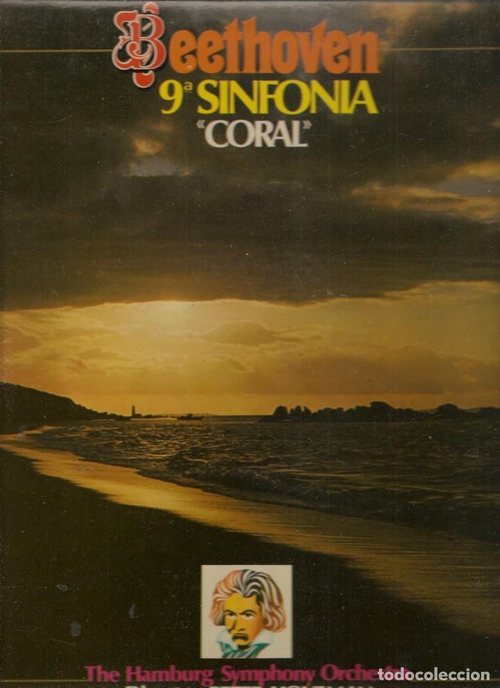 LP. BEETOVEN. 9 SINFONIA. ¨CORAL ¨. (P/B72) (Música - Discos - LP Vinilo - Otros estilos)