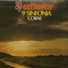 Discos de vinilo: LP. BEETOVEN. 9 SINFONIA. ¨CORAL ¨. (P/B72). Lote 165977134
