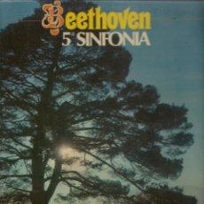Discos de vinilo: LP. BEETOVEN. 5ª SINFONIA. (P/B72). Lote 165977290