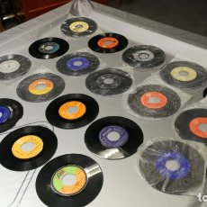Discos de vinilo: LOTE DE 18 DISCOS PEQUEÑOS SINGLES VARIADOS DE VINILO, MUY BARATITOS SALEN A 3E. Lote 165978742