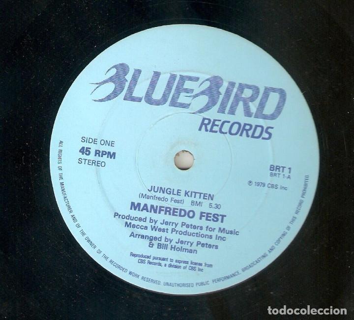 MANFREDO FEST 12 UK MAXI 45 RPM JUNGLE KITTEN 1979 JAZZ FUNK LATIN JAZZ BLUEBIRD BRT1 MUY RARO MIRA! (Música - Discos de Vinilo - Maxi Singles - Funk, Soul y Black Music)