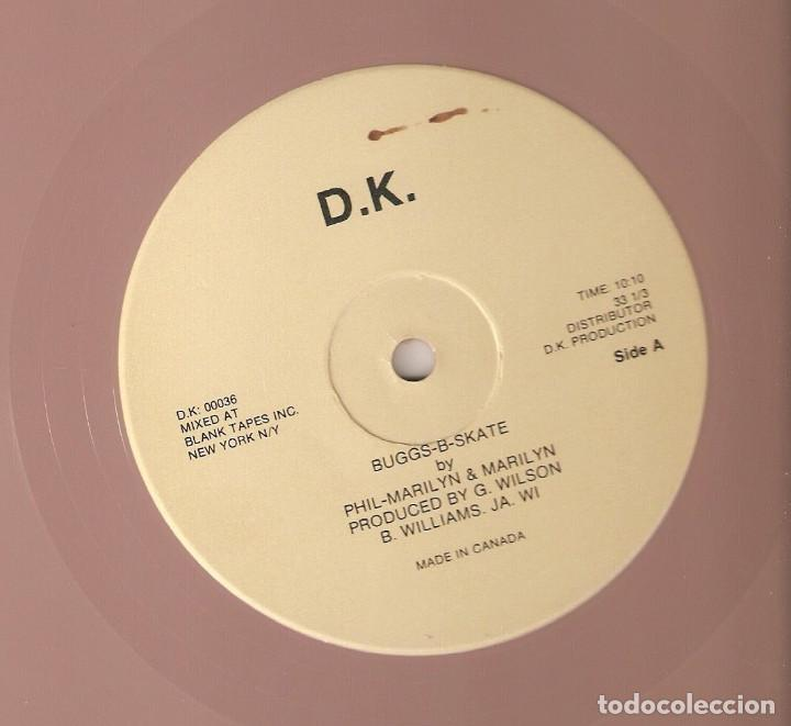 PHIL-MARILYN 12 CANADA MAXI BUGGS-B-SKATE 1980 ELECTRONIC HIP HOP DISCO RAP FUNK VINILO ROSA IMPORT. (Música - Discos de Vinilo - Maxi Singles - Rap / Hip Hop)