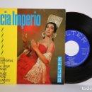 Discos de vinilo: DISCO EP DE VINILO - ALICIA IMPERIO / EL TEMPORAL, SOLEA POR BULERIAS - BELTER - AÑO 1963. Lote 165995514