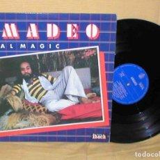 Discos de vinilo: AMADEO SPAIN LP 1979 REAL MAGIC FUNK SOUL ITALO DISCO DISQUES IBACH HISPAVOX MUY BUEN ESTADO MIRA !!. Lote 165999862