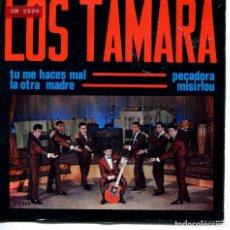 Discos de vinilo: LOS TAMARA / PECADORA + 3 (EP 1965). Lote 166008694