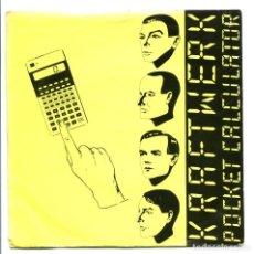 Discos de vinilo: KRAFTWERK. POCKET CALCULATOR. ELECTRONICA 1981. PERFECTO ESTADO SP. Lote 166012310