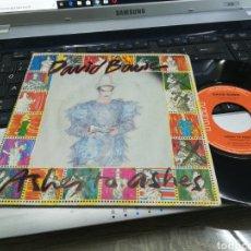 Discos de vinilo: DAVID BOWIE SINGLE ASHES TO ASHES FRANCIA 1980. Lote 166015366