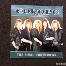 Vinyl-Schallplatten - MAXI SINGLE. EUROPE. THE FINAL COUNTDOWN. 1986 - 166015682