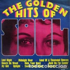 Discos de vinilo: VARIOUS - THE GOLDEN HITS OF SOUL (LP) LABEL:ALLEGRO RECORDS CAT#: ALL 885 . Lote 166015970