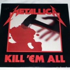 Discos de vinilo: LP METALLICA - KILL´EM ALL. Lote 166017494