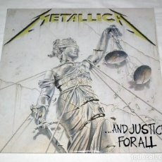Discos de vinilo: LP METALLICA - ...AND JUSTICE FOR ALL. Lote 166020958