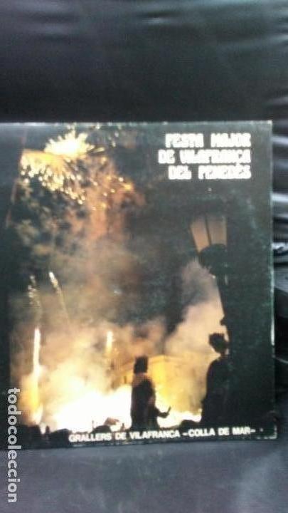 FESTA MAYOR DE VILAFRANCA DEL PENEDES-GRALLERS DE VILAFRANCA -COLLA DE MAR (Música - Discos - LP Vinilo - Étnicas y Músicas del Mundo)