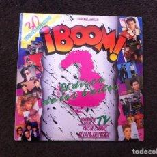 Discos de vinilo: BOOM 3. EL DISCO DE LOS ÉXITOS (2 LP) 1987. Lote 166026778