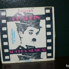 Discos de vinilo: COLECCION CHAPLIN - ETERNALLY, GREEN LANTERNS SNAG, THIS IS MY SONG, SMILE, BELTER, 1973.. Lote 166027350