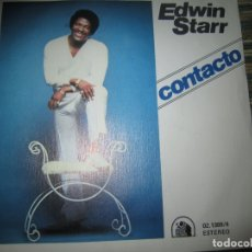 Discos de vinilo: EDWIN STARR - CONTACTO SINGLE - ORIGINAL ESPAÑOL - 20 CENTURY FOX RECORDS 1978 - . Lote 166033850