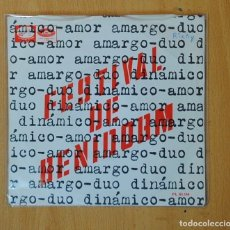 Disques de vinyle: DUO DINAMICO - AMOR AMARGO - SINGLE. Lote 166034260