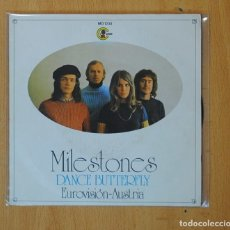 Dischi in vinile: MILESTONES - DANCE BUTTERFLY / OH FAIRY DAY - SINGLE. Lote 166034726