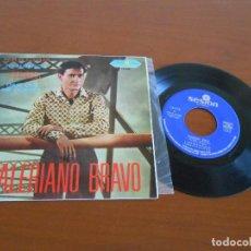 Discos de vinilo: VALERIANO BRAVO EP REIR O LLORAR + 3 1967 - RARO. Lote 166042150