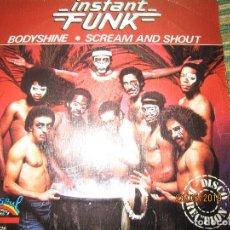 Discos de vinilo: INSTANT FUNK - BODYSHINE SINGLE ORIGINAL ESPAÑOL - SALSOUL RECORDS 1979 -. Lote 166052066