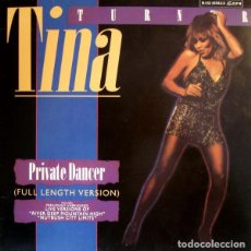Discos de vinilo: TINA TURNER - PRIVATE DANCER (FULL LENGTH VERSION) (ESPAÑA, 1984). Lote 166053266