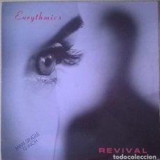 Discos de vinilo: EURYTHMICS - REVIVAL (ESPAÑA, 1989). Lote 166056866