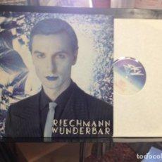 Discos de vinilo: WOLGANG RIECHMANN - WUNDERBAR / ALBUM LP VINILO SKY RECORDS 1978 MADE IN GERMANY. NM/NM. Lote 166069470