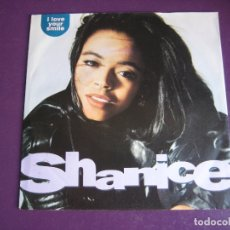 Dischi in vinile: SHANICE ‎SG MOTOWN 1991 - I LOVE YOUR SMILE +1 HIP HOP FUNK DISCO - A ESTRENAR. Lote 166085610