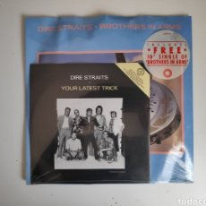 Discos de vinilo: DIRE STRAITS-YOUR LATEST TRICK+BROTHERS IN ARMS. LIMITED EDITION DSTRT13. Lote 166087005