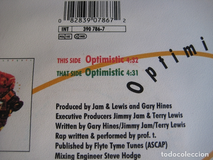 Discos de vinilo: Sounds Of Blackness Sg 1991 Optimistic +1 NEO GOSPEL - DISCO - HOUSE ELECTRONICA - Foto 3 - 166087530