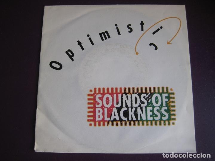 SOUNDS OF BLACKNESS SG 1991 OPTIMISTIC +1 NEO GOSPEL - DISCO - HOUSE ELECTRONICA (Música - Discos - Singles Vinilo - Disco y Dance)