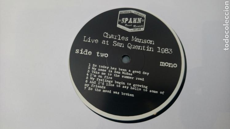 Discos de vinilo: Charles Manson live at San Quentin 1983 - LP vinilo nuevo - Foto 4 - 165845925