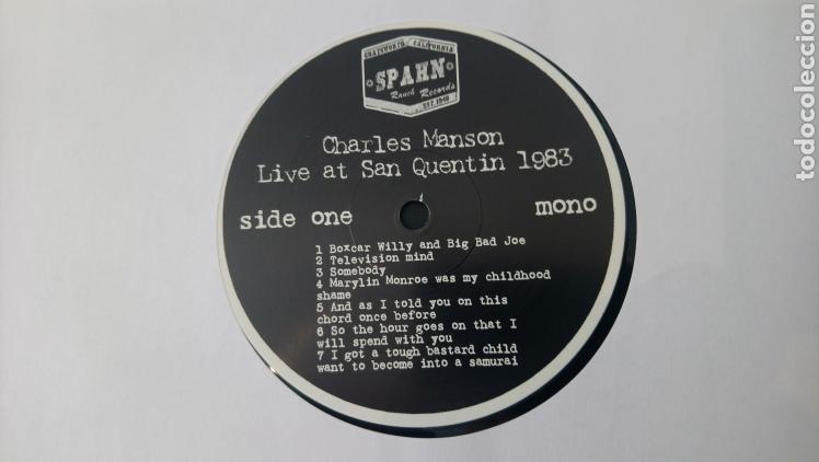 Discos de vinilo: Charles Manson live at San Quentin 1983 - LP vinilo nuevo - Foto 6 - 165845925
