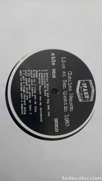 Discos de vinilo: Charles Manson live at San Quentin 1983 - LP vinilo nuevo - Foto 5 - 165845925