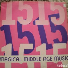 Discos de vinilo: MAXI 12 PULGADAS. DIVA MUSICA. MAGICAL MIDDLE AGE MUSIC, BABYLONIA. Lote 166089722