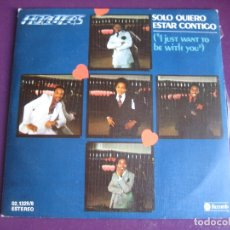 Discos de vinilo: FLOATERS SG ABC MOVIEPLAY 1978 - SOLO QUIERO ESTAR CONTIGO = I JUST WANT TO BE WITH YOU +1 FUNK SOUL. Lote 166091106