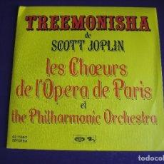 Discos de vinilo: TREEMONISHA DE SCOTT JOPLIN - OPERA PARIS + FILARMONICA SG BARCLAY - A ESTRENAR - JAZZ BLUES. Lote 213700587