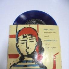Disques de vinyle: SINGLE. CORTESIA DE OSBORNE. LATILLA Y VILLA. Lote 166094662