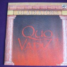 Discos de vinilo: GLADIATORS SG SANNI 1985 QUO VADIZ +1 ITALODISCO - ELECTRONICA SYNTH POP 80'S - DISCO. Lote 166094906