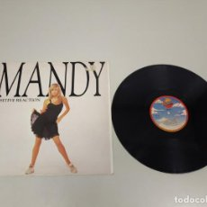 Vinyl-Schallplatten - 519- MANDY POSITIVE REACTION MAXI SINGLE VINILO ESP 1987 PORT VG + DISCO VG +/++ - 166095394