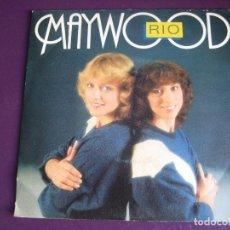 Discos de vinilo: MAYWOOD SG CBS 1981 - RIO +1 ELECTRONICA SYNTH POP DISCO 80'S - SIN ESTRENAR. Lote 166113362