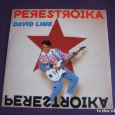 Discos de vinilo: DAVID LIME SG BLANCO Y NEGRO 1990 - PERESTROIKA +1 ELECTRONICA HOUSE DISCO 90'S - SIN ESTRENAR. Lote 166122834