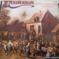 Discos de vinilo: LABANDA - FIESTA CAMPESTRE ROCKMERIA LP DOBLE PORTADA 1981 SPAIN . Lote 166138106