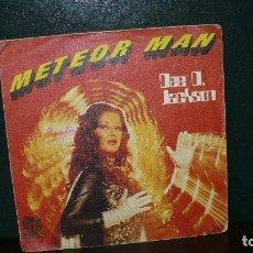Discos de vinilo: DEE D. JACKSON - METEOR MAN / GALAXY POLICE, SAUCE, 1978.. Lote 166138514