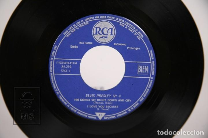 Discos de vinilo: Disco EP de Vinilo - Elvis Presley Rock and Roll Nº 4 / I Got a Woman - RCA - 1961 Francia - Foto 2 - 166138766