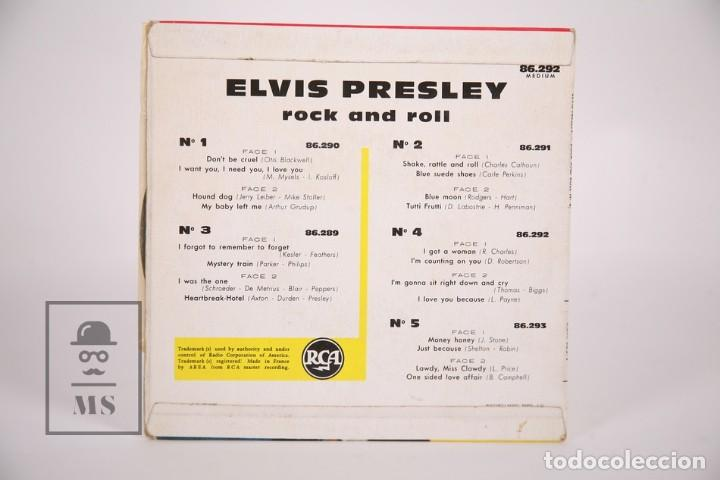 Discos de vinilo: Disco EP de Vinilo - Elvis Presley Rock and Roll Nº 4 / I Got a Woman - RCA - 1961 Francia - Foto 3 - 166138766