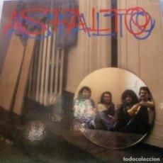 Discos de vinilo: ASFALTO - MISMO TITULO LP SPAIN 1983. Lote 166139098