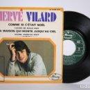 Discos de vinilo: DISCO EP DE VINILO - HERVÉ VILARD / COMME SI C'ÉTAIT NOËL... - MERCURY - 1968 FRANCIA. Lote 166141030